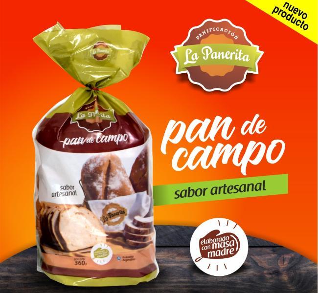 Pan de Campo. Elaborado con Masa Madre